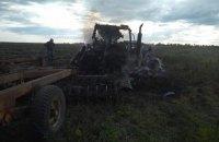 Двоє трактористів підірвалися на міні в Луганській області