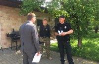Поліція проводить обшук в одного з лідерів Демальянсу