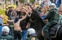 Матч Бундесліги завершився масовим арештом фанатів