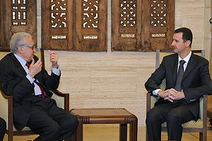 Спецпосланник ООН встретился с Башаром Асадом