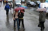 В среду в Киеве +27, возможен дождь