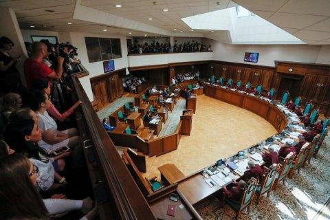 День відкритих дверей: як КС почав розгляд справи про розпуск парламенту