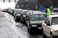 Пограничники выделили дополнительные полосы для авто из-за ажиотажа на границе
