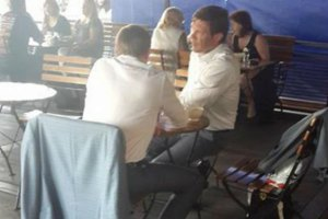 Царьов зустрівся з сином Пшонки в Москві