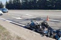 Поліцейський на конфіскованому мотоциклі потрапив у ДТП дорогою на арештмайданчик