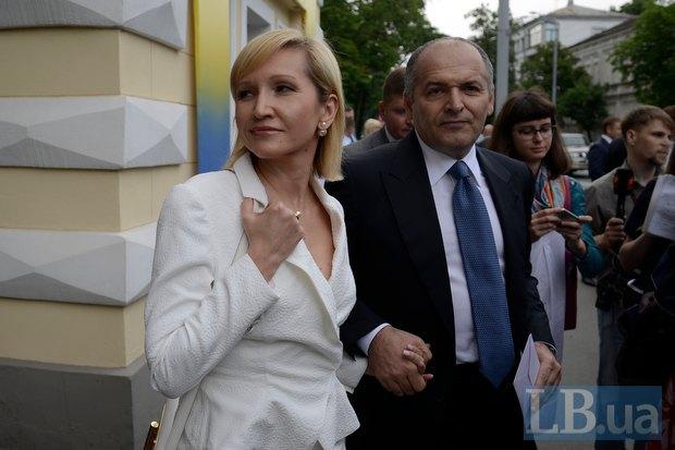 Виктор Пинчук с женой