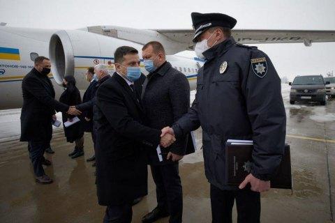 Зеленський прилетів у Харків через загибель людей у пожежі