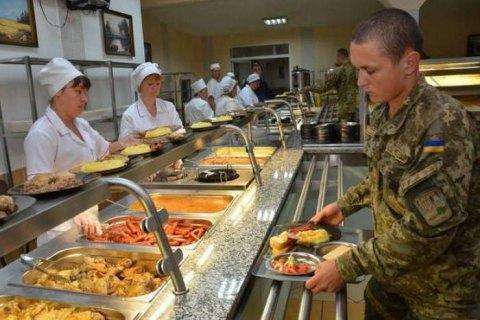 Со следующего года все воинские части перейдут на новую систему питания, - Минобороны