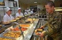 З наступного року усі військові частини перейдуть на нову систему харчування, - Міноборони