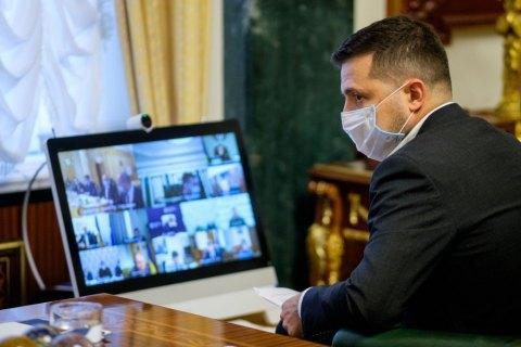 Зеленский внес в Раду законопроект о поддержке бизнеса на карантине