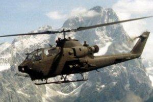 В Калифорнии разбился военный вертолет