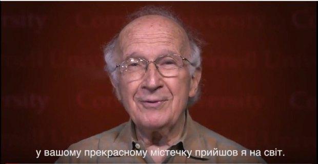 Скрін відеозвернення Гофмана до жителів Золочева і українців
