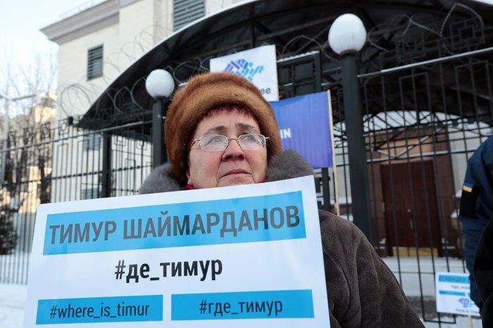 Мама Тимура Шаймарданова Лариса