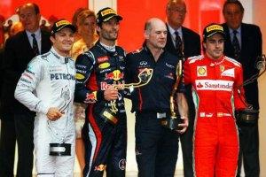 Гран-при Монако: победа Уэббера, подиум Алонсо