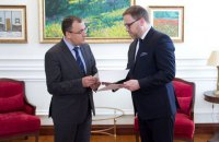 У МЗС прийняли копії вірчих грамот від нового посла Польщі Ціхоцького