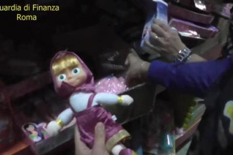 У Римі конфіскували 7 млн іграшок та різдвяних прикрас