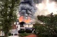 Біля резиденції королівського Версаля в Парижі сталася велика пожежа