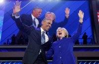 Обама і Клінтон очолили рейтинг захоплення в США