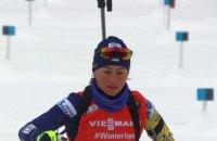 Семеренко попала в цветочную церемонию по итогам спринта на этапе Кубка мира в Оберхофе