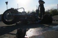 На Троєщині в Києві автомобіль збив мотоцикліста