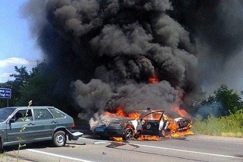 МВС: вогонь у Мукачевому першим відкрив ПС
