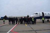 В Николаевском международном аэропорту совершили первый тестовый пассажирский полет
