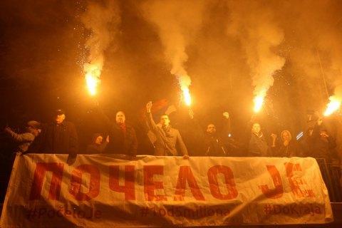 В Сербии шестой раз протестовали против политики Вучича