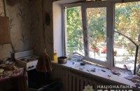 У Борисполі через вибух газу в багатоквартирному будинку постраждала людина