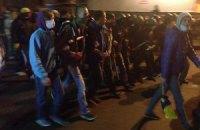 Одеські активісти Майдану повісили український прапор біля Будинку профспілок