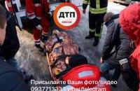 У Дніпровському районі столиці п'яний чоловік випав з 7 поверху і залишився живий