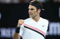 """Федерер завоював 20-й """"шолом"""""""
