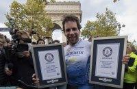 Шотландець здійснив кругосвітню подорож на велосипеді за 79 днів