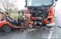 Два человека погибли в лобовом ДТП в Ивано-Франковской области