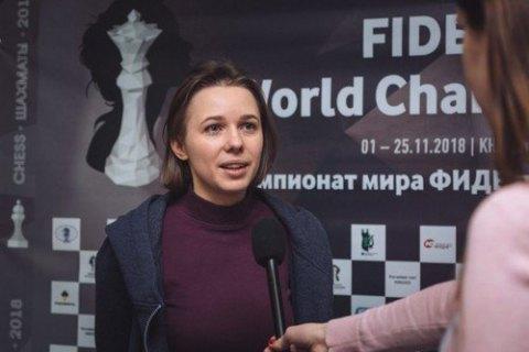 Марія Музичук вийшла до півфіналуЧС зшахів