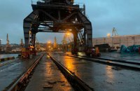 Одесский порт увеличивает фронты выгрузки вагонов на Платоновском молу