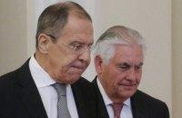 Тиллерсон обсудил с Лавровым ситуацию в Украине и Сирии