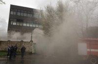 У Херсоні загорілася міська друкарня (оновлено)