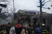Азербайджан повідомив, що вірменська армія нанесла удар по місту Гянджа
