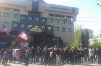 В Донецке сепаратисты захватили телерадиокомпанию