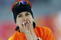 Голландка Ирен Вюст выиграла «золото» на 1,5-километровой конькобежной дистанции