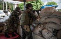 У Славянска террористы ранили двух солдат