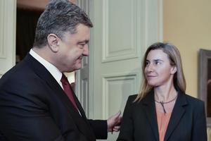 Порошенко і Могеріні скоординували позиції напередодні засідання Ради ЄС
