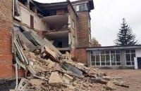 В Василькове произошло обрушение стены в школе (обновлено)