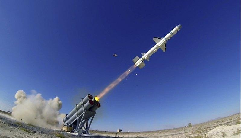 Полігонний випробувальний пуск перспективної турецької протикорабельної ракети Atmaca.