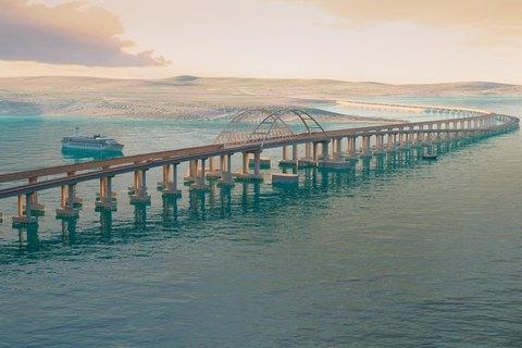 Росія зсунула терміни запуску залізничної частини Керченського моста