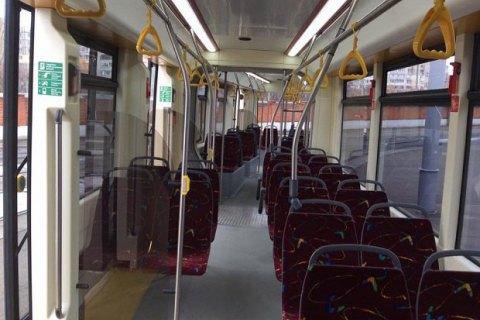 У Києві через обрив дротів зупинявся рух швидкісного трамвая