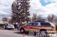 Біля Коломиї загинули водій та пасажирка легковика, що зіткнувся з рейсовим автобусом