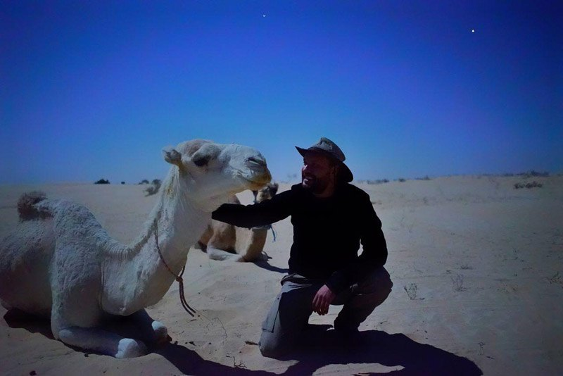 в пустыне Сахара