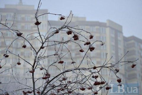 Завтра в Киеве до -11 градусов