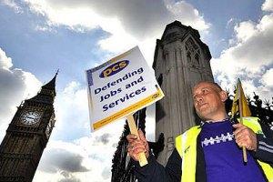 В Британии госслужащие бастуют против пенсионной реформы